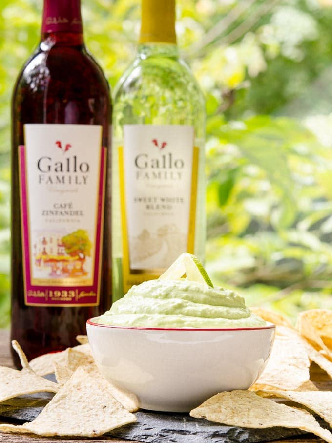 Hatch Chile Avocado Cream Dip - Magnolia Days