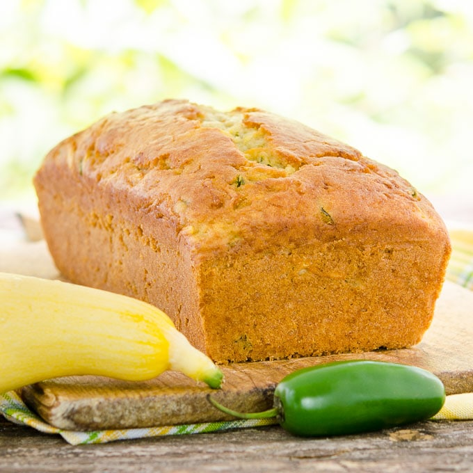 Jalapeño Summer Squash Quick Bread | Magnolia Days