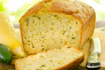 Jalapeño Summer Squash Quick Bread for #BreadBakers