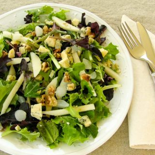 Pear and Stilton Salad – Progressive #SundaySupper