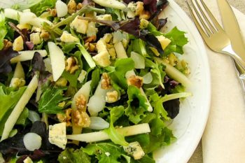Pear and Stilton Salad | Magnolia Days