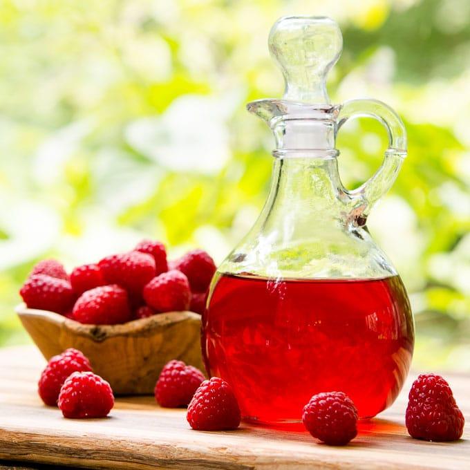 Raspberry Vinegar   Magnolia Days