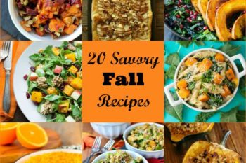 20 Savory Fall Recipes