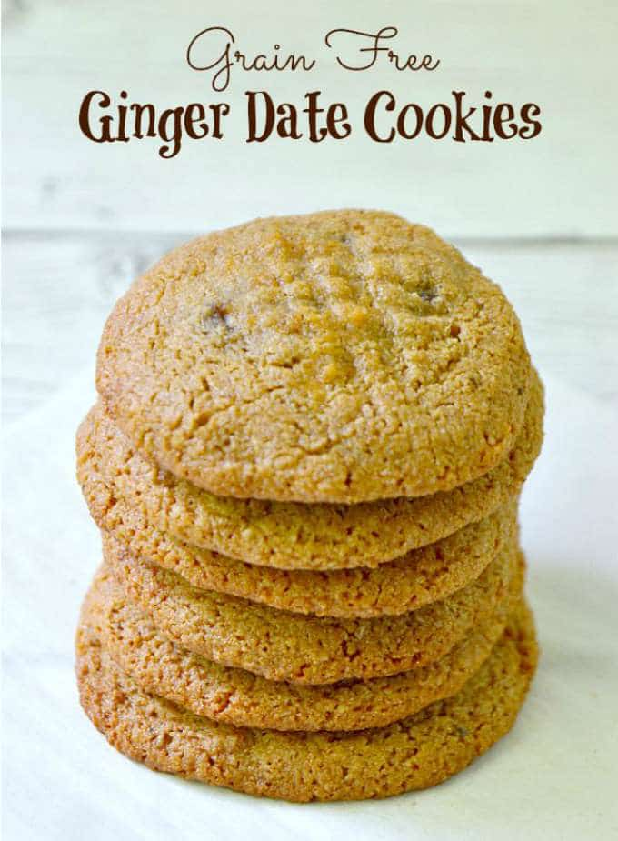 Ginger Date Cookies by Kitchen Tested