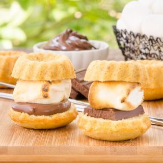 Graham Cracker Bundt Cake S'mores for #BundtBakers