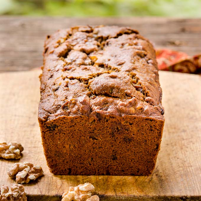 Whole Wheat Date Nut Bread | Magnolia Days