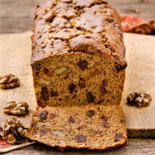 Whole Wheat Date Nut Bread for #BreadBakers
