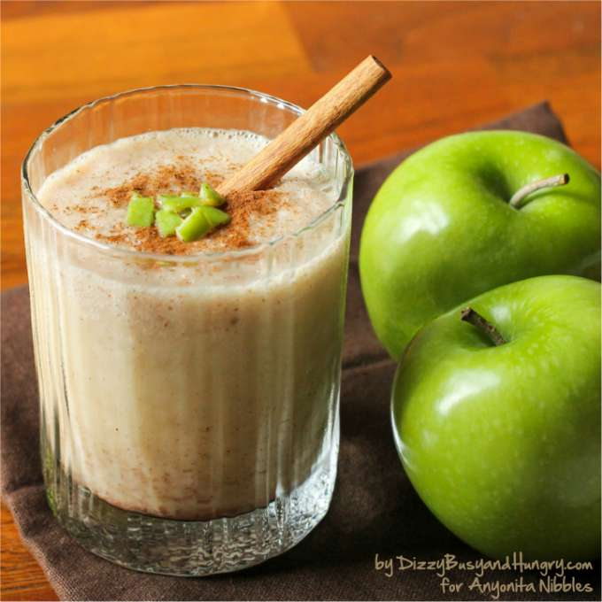Apple Cider Smoothie by Dizzy Busy and Hungry