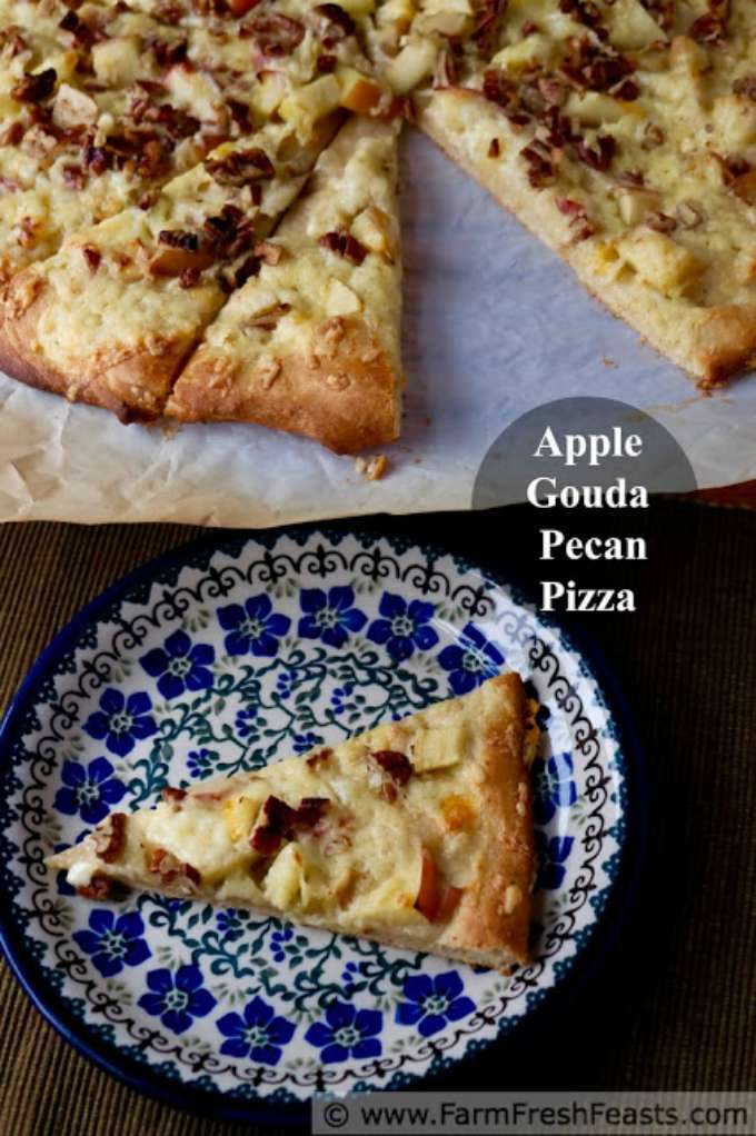 Apple Gouda and Pecan Pizza by Farm Fresh Feasts