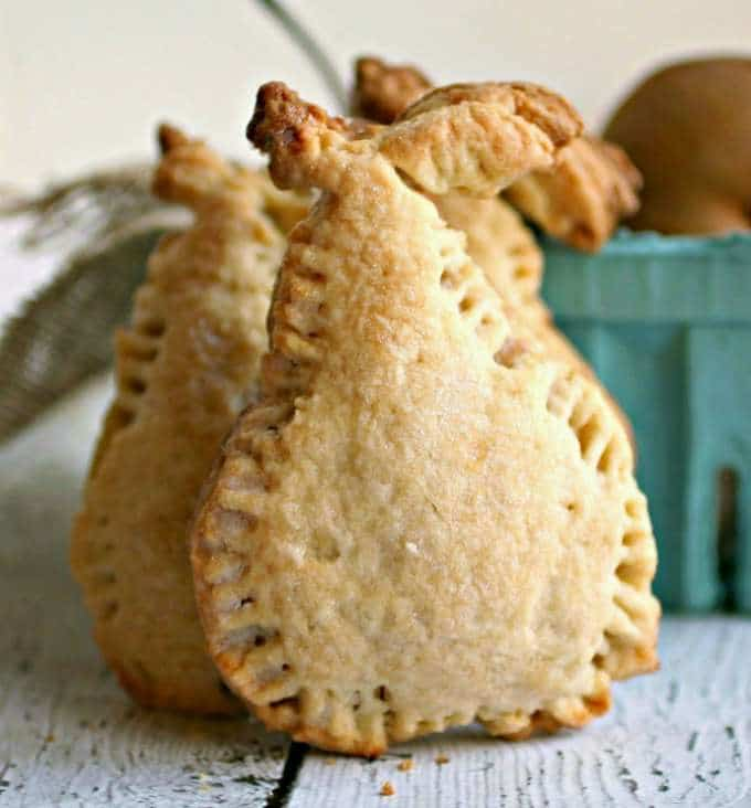 Spiced Pear Hand Pies by Hungry Couple