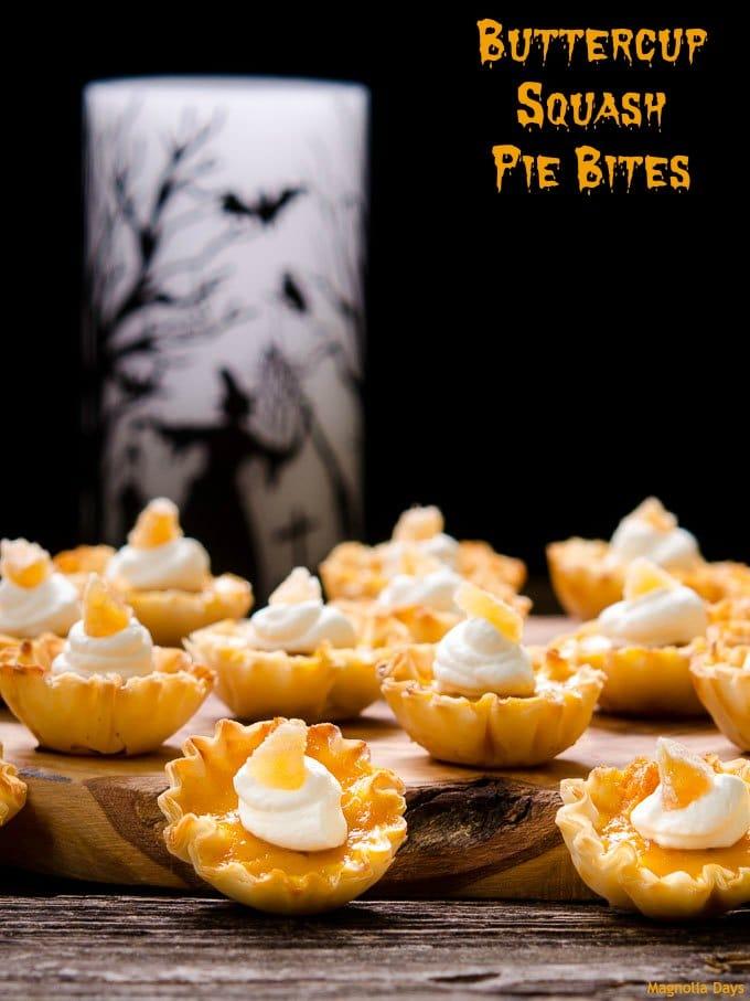 Buttercup Squash Pie Bites   Magnolia Days