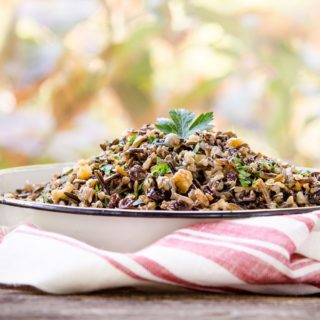 Fruited Wild Rice for #SundaySupper