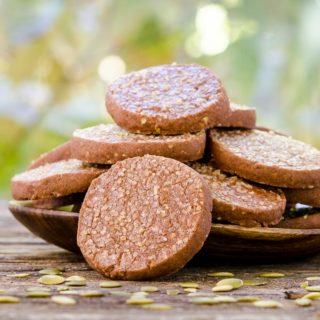Mexican Chocolate Pepita Shortbread Cookies for #CreativeCookieExchange