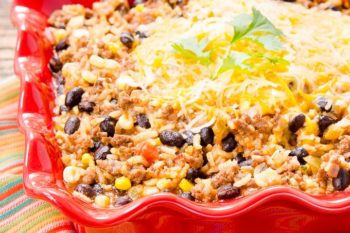 Pressure Cooker Mexican Beef Rice | Magnolia Days