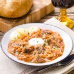 Szegediner Gulasch (German Sauerkraut Beef Goulash) | Magnolia Days