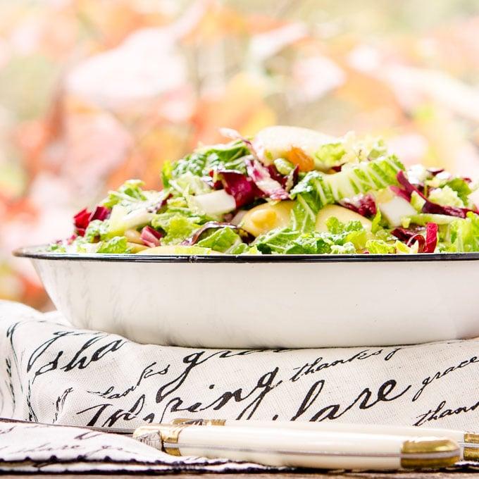 Autumn Crunch Salad | Magnolia Days