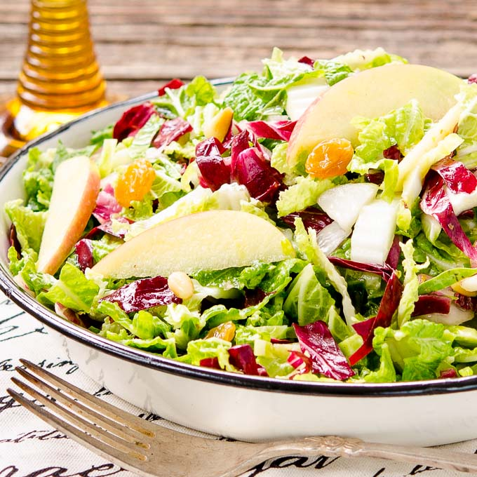 Autumn Crunch Salad by Magnolia Days