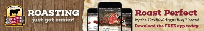 Certified Angus Beef® brand Roast Perfect App Banner