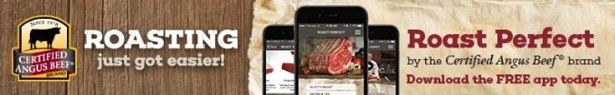 Certified Angus Beef® brand Roast Perfect App Banner