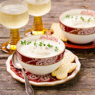 Creamy Crab Soup for Two