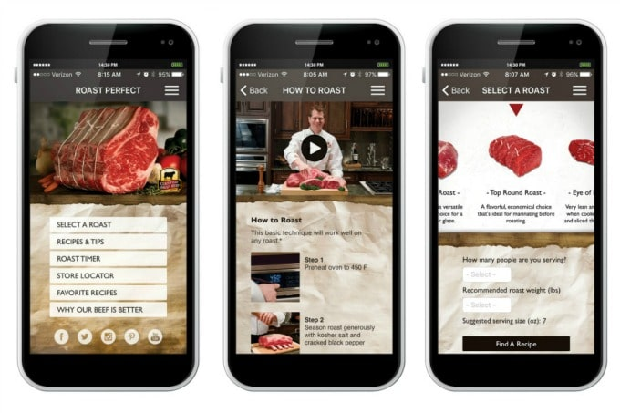 Certified Angus Beef brand® Roast Perfect App