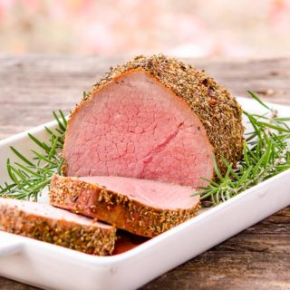 Sriracha Herb Roast and Beef Roasting Tips