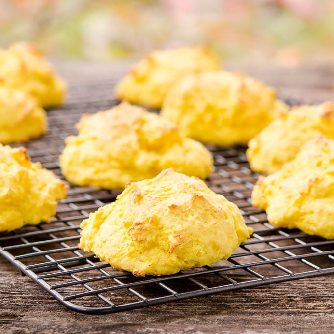 Sweet Dumpling Squash Drop Biscuits | Magnolia Days