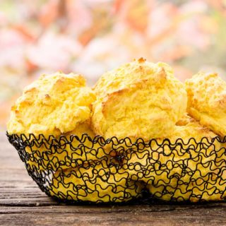 Sweet Dumpling Squash Drop Biscuits for #BreadBakers