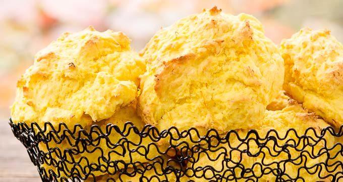 Sweet Dumpling Squash Drop Biscuits for #BreadBakers