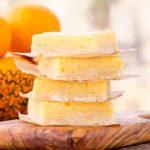 Tangerine Ricotta Bars | Magnolia Days