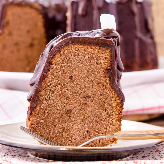 Toffee Chip Hot Chocolate Pound Cake by Magnolia Days