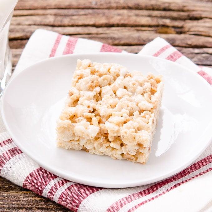 Toffee Chip Rice Krispie Treats by Magnolia Days