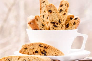 Currant Walnut Biscotti | Magnolia Days