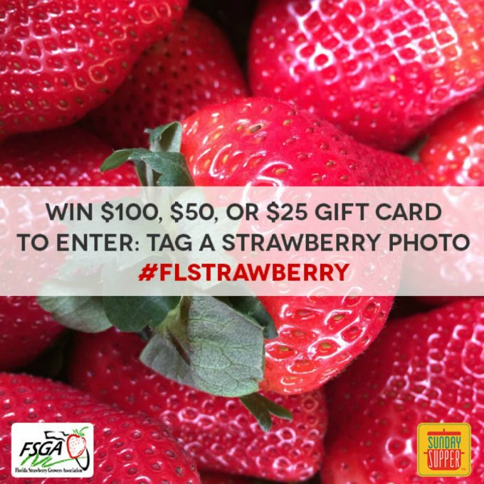 Florida Strawberry Instagram Contest