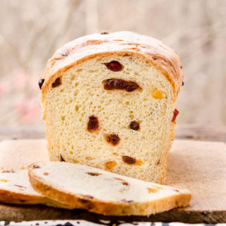 Fruity Butter Bread for #BreadBakers