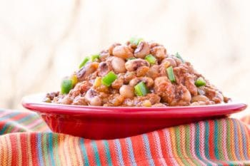 Mexican Chorizo Black-Eyed Peas | Magnolia Days