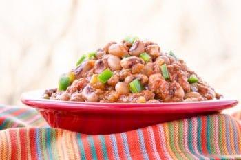 Mexican Chorizo Black-Eyed Peas | Magnolia Days