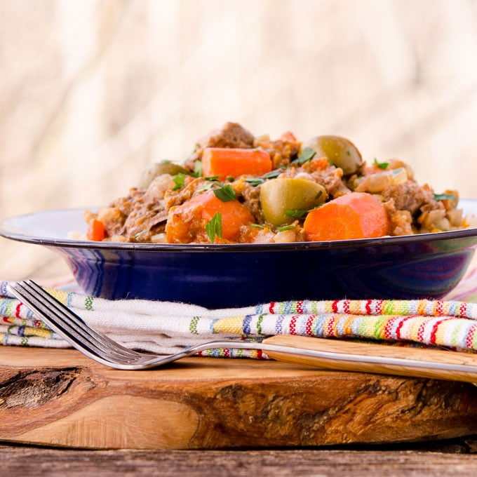 Slow Cooker Spiced Beef Stew   Magnolia Days