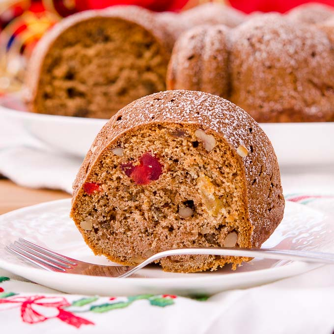 Spiced Fruitcake Bundt Cake | Magnolia Days