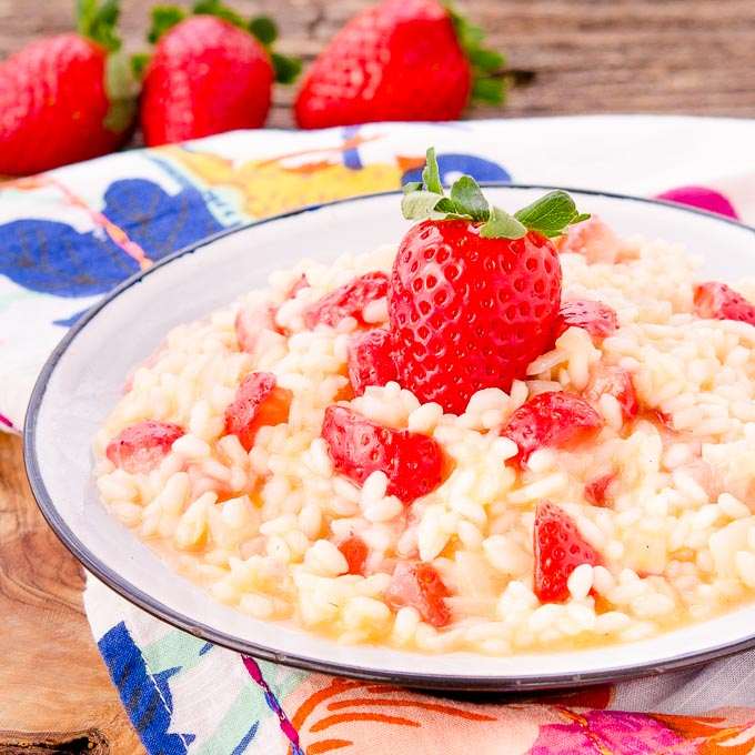 Strawberry Risotto | Magnolia Days