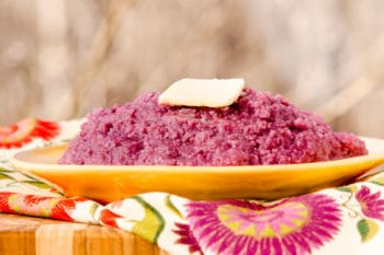 Purple Sweet Potato Grits | Magnolia Days