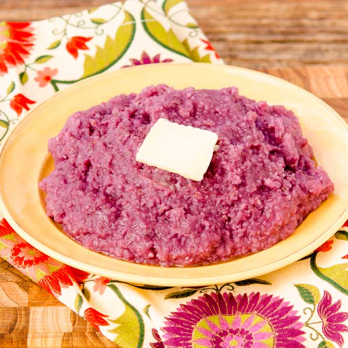 Purple Sweet Potato Grits | Magnolia Days
