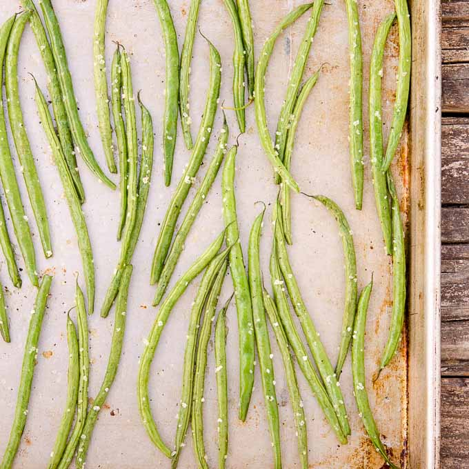 Roasted Green Beans | Magnolia Days