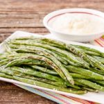 Roasted Green Beans with Horseradish Sauce | Magnolia Days