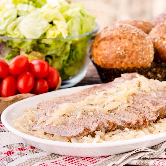 Sauerkraut Brisket | Magnolia Days