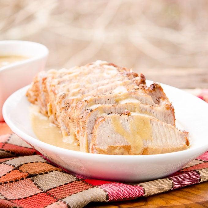 Sherry Apple Pork Roast   Magnolia Days
