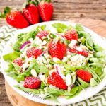 Sparkling Strawberry Salad | Magnolia Days