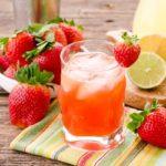 Strawberry Whiskey Sour | Magnolia Days