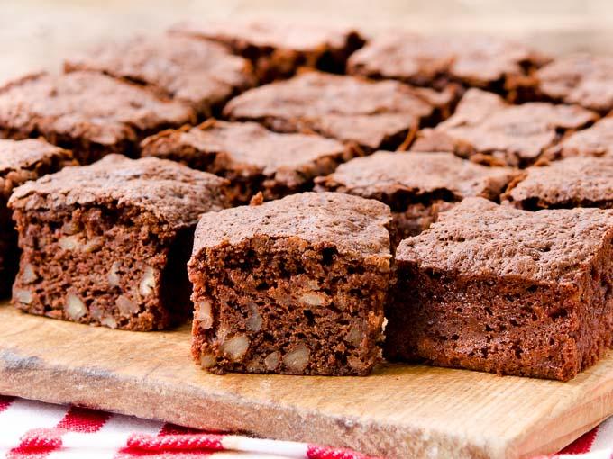 Chocolate Banana Nut Brownies   Magnolia Days