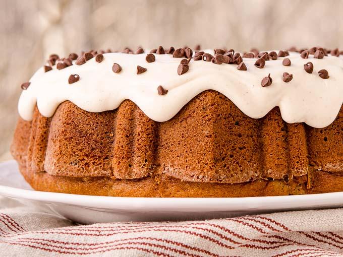Cinnamon Chocolate Chip Bundt Cake | Magnolia Days